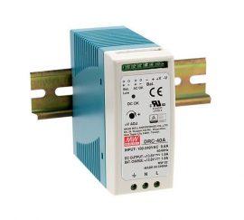 Mean Well DRC-40B két kimenetes tápegység és akkumulátor töltő